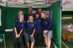 staff at annual dog show 2019